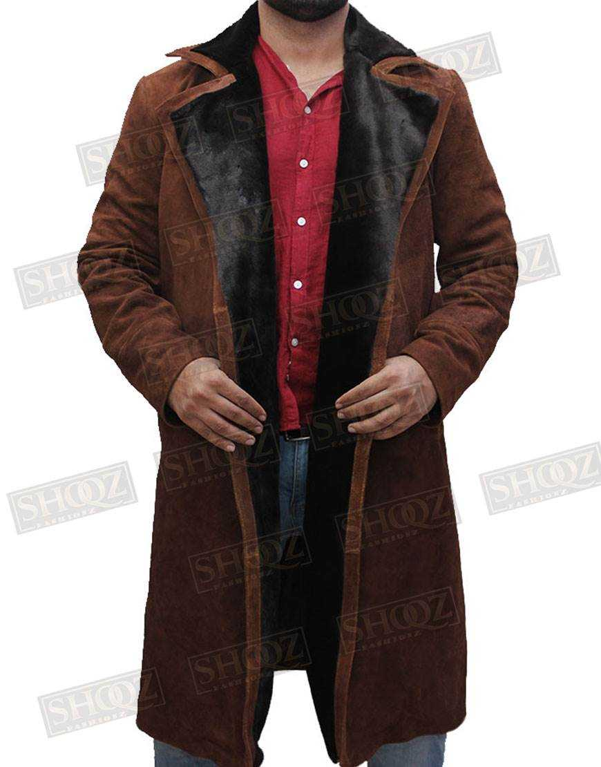 Atomic Blonde James Mcavoy Fur Coat