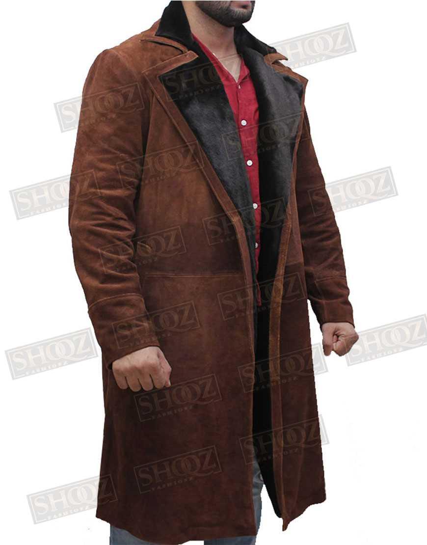 Atomic Blonde James Mcavoy Fur Coat