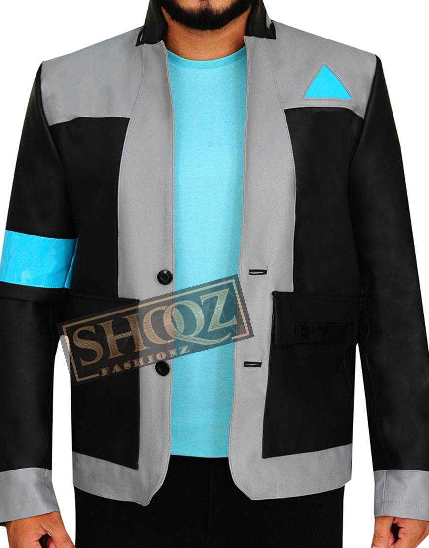 Detroit Become Human Bryan Dechart Black Jacket