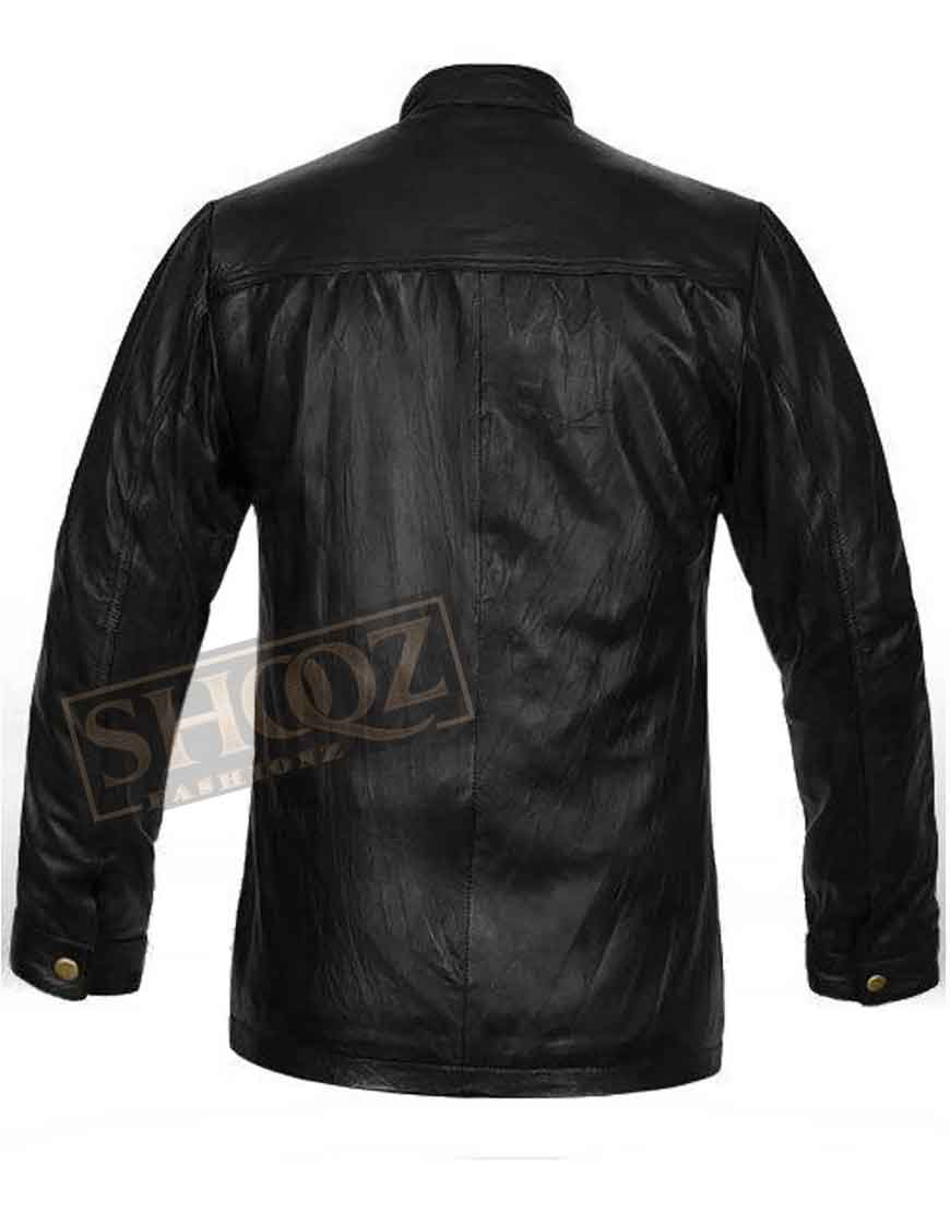 17 Again Zac Efron Leather Jacket
