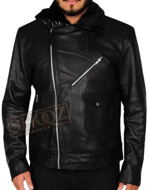 24 Legacy Ashley Thomas Leather Jacket