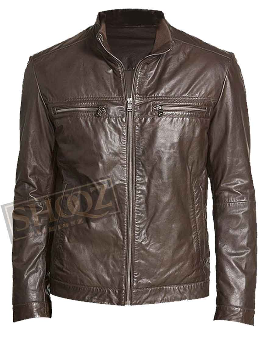 Agents Of Shield Grant Ward Leather Jacket