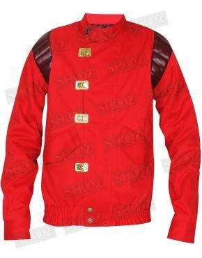 Akira Kaneda Capsule Red Biker Leather Jacket