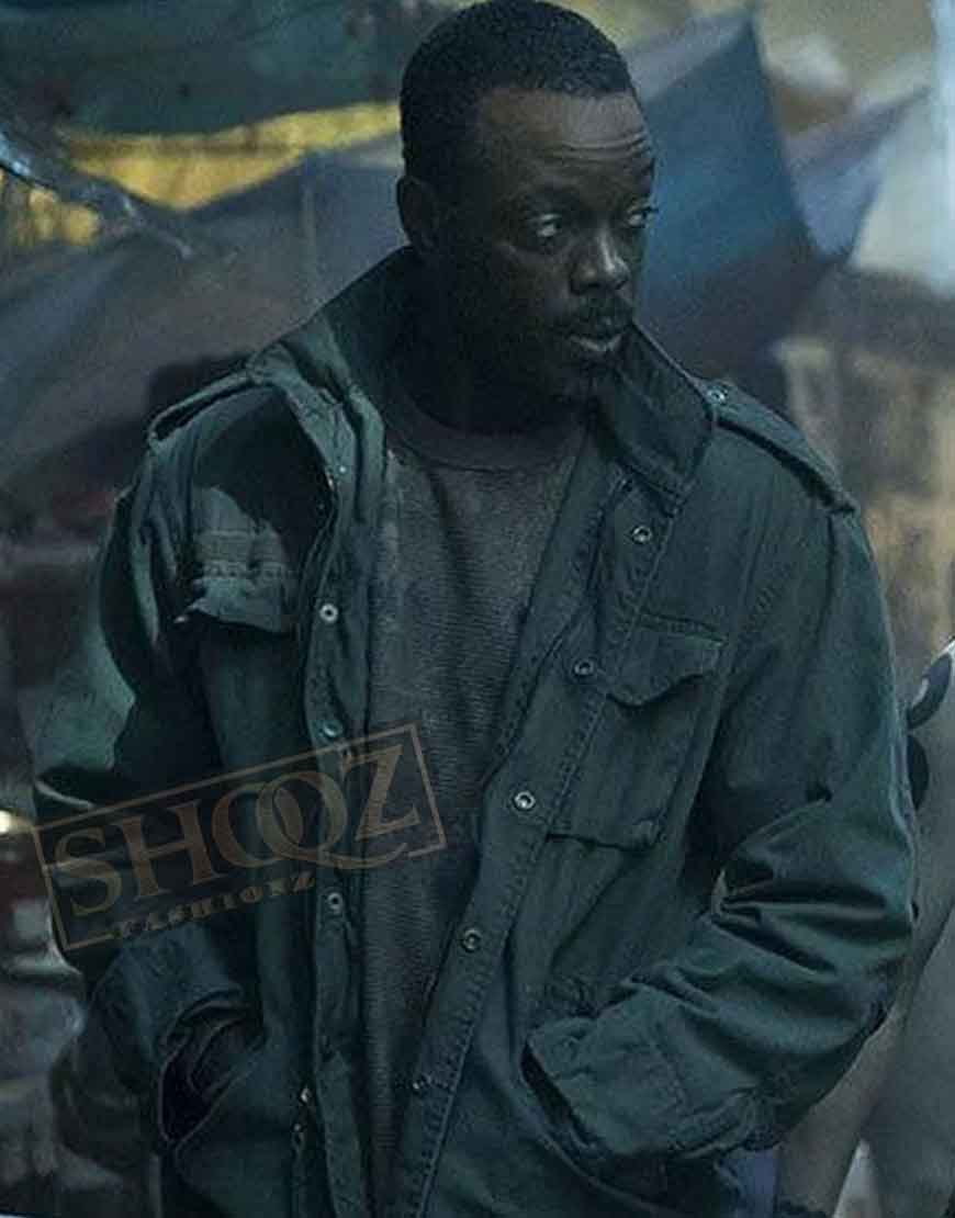 Altered Carbon Ato Essandoh (Vernon Elliot) Jacket