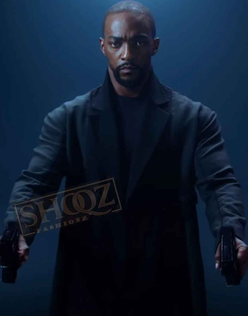 Altered Carbon Season 2 Anthony Mackie Trench Coat