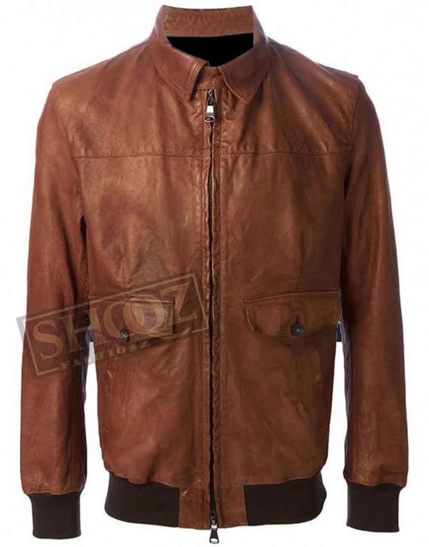 American Horror Story Wes Bentley Leather Jacket