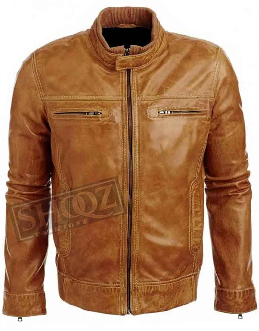 Arrow Colin Donnell Leather Jacket