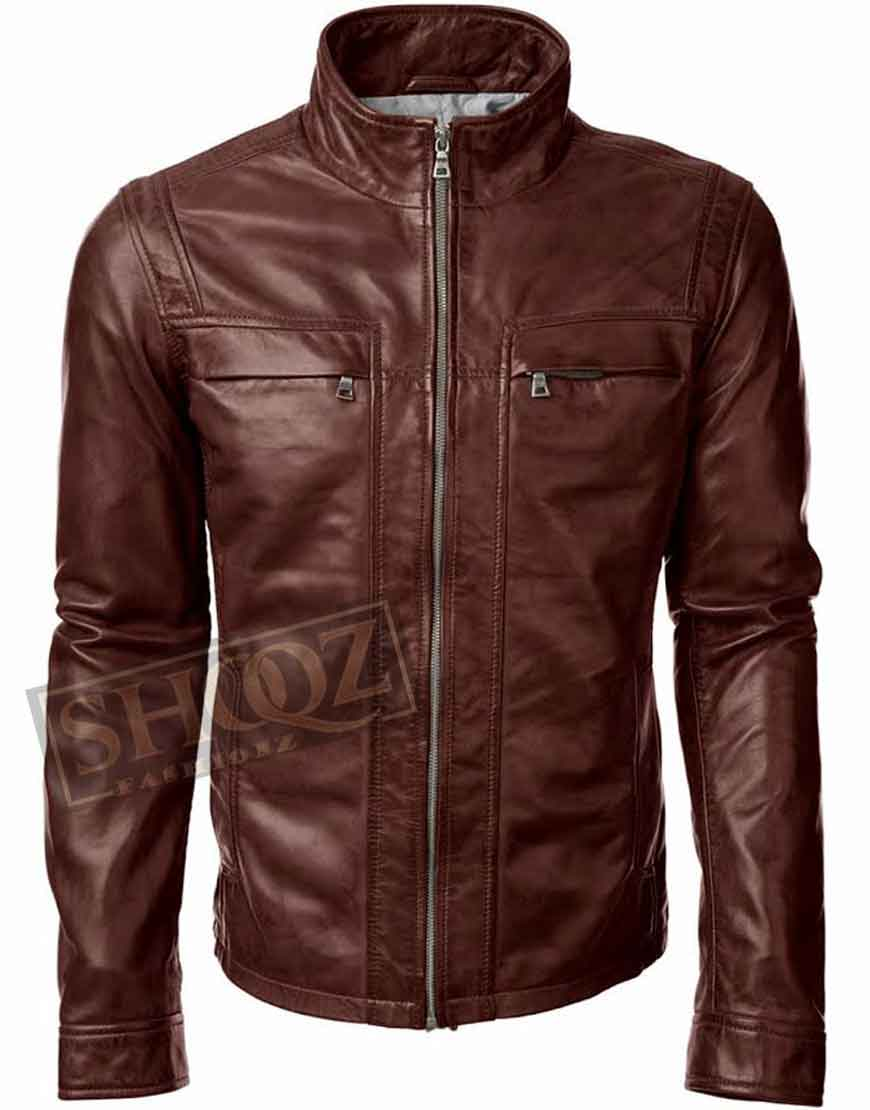 Arrow Season 5 David Ramsey Leather Jacket