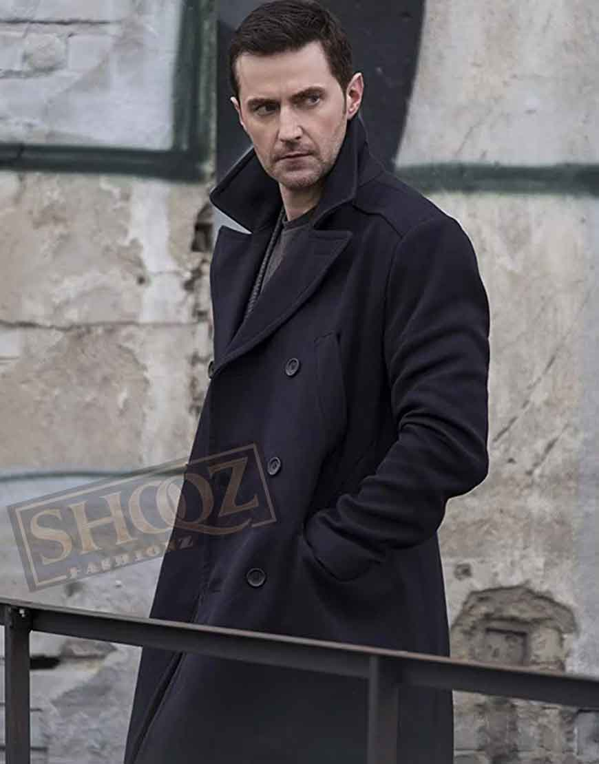 Berlin Station Richard Armitage Black Coat