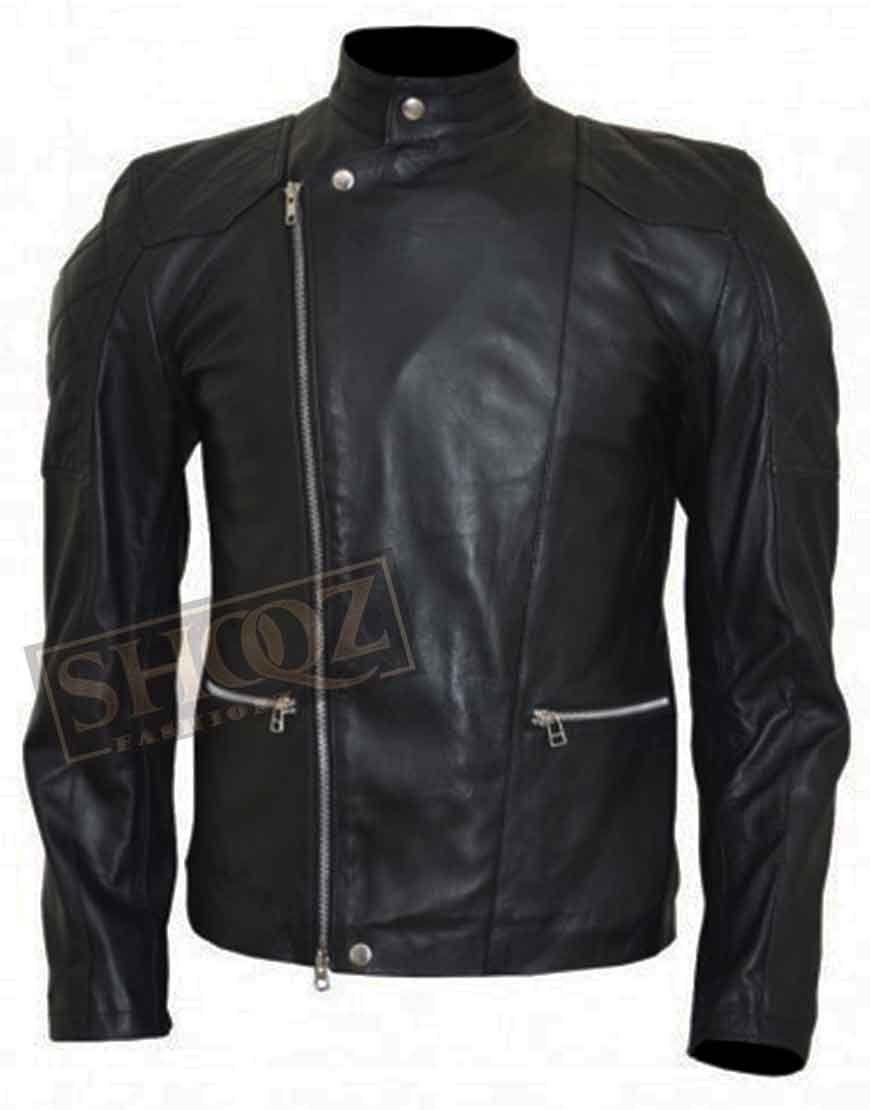 Billions Damian Lewis Black Leather Jacket