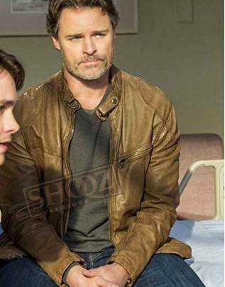 Cedar Cove Dylan Neal Leather Jacket