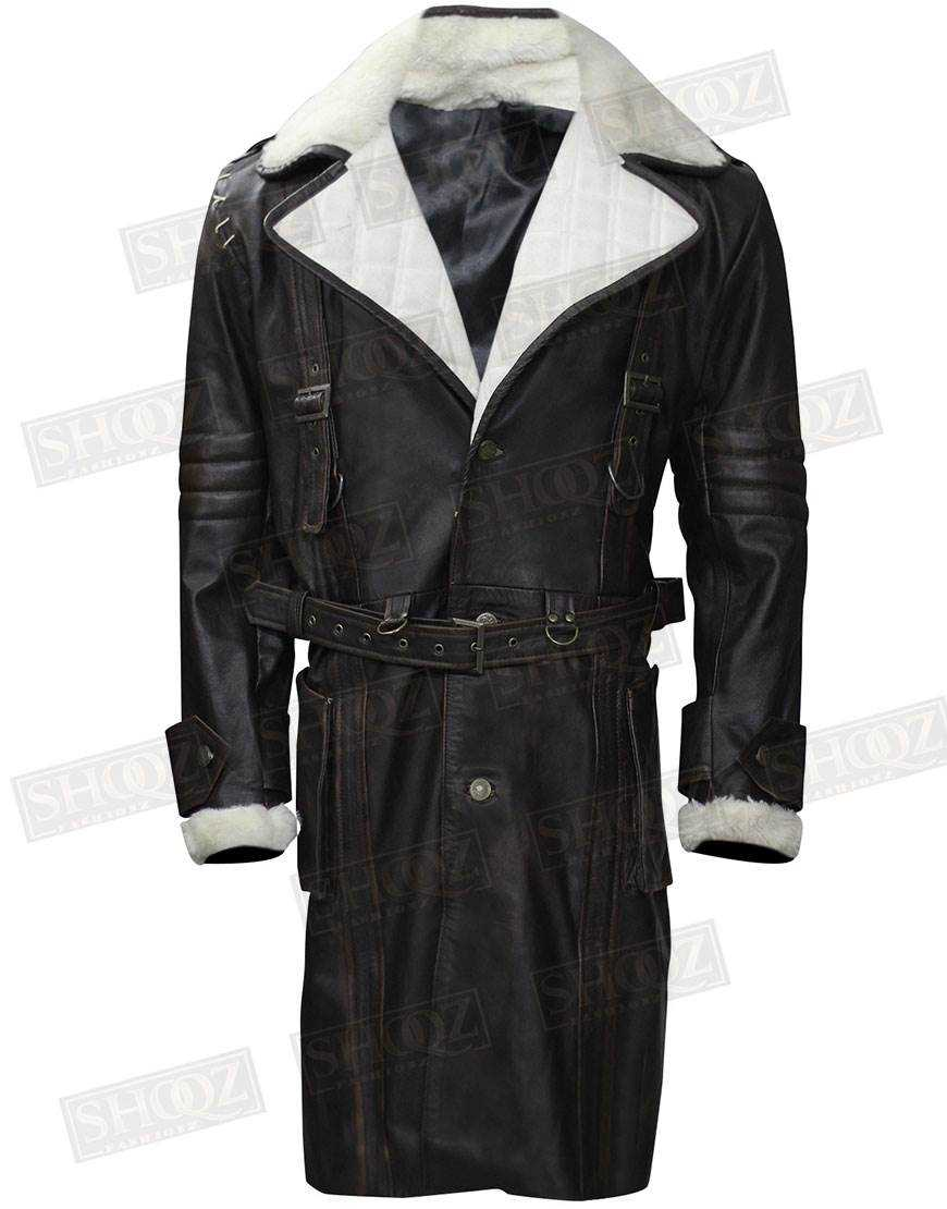 Fallout 4 Brotherhood of Steel Elder Maxson Shearling Coat