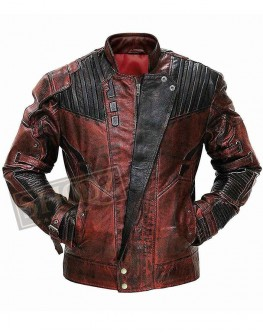 Guardians Of The Galaxy 2 Chris Pratt Leather Jacket