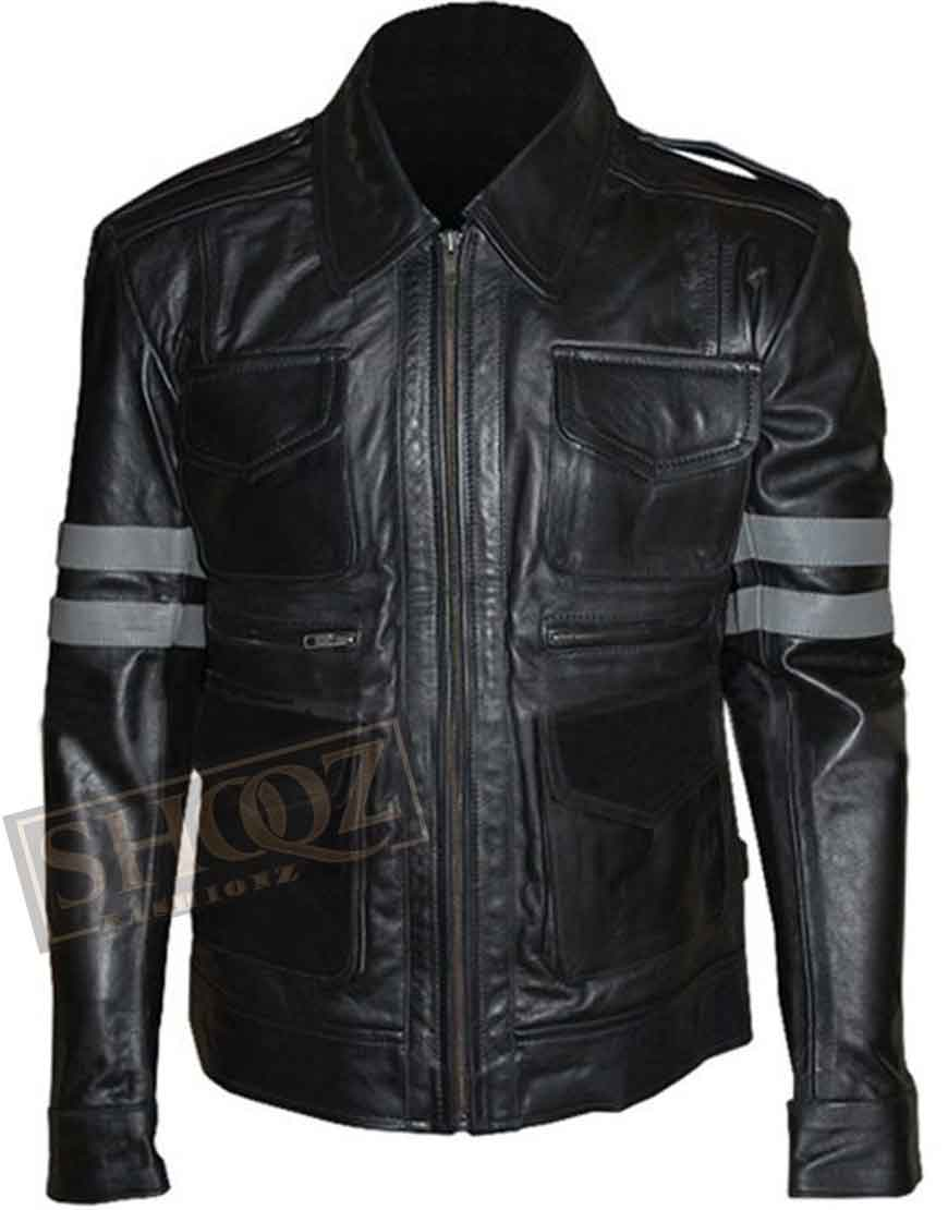 Resident Evil 6 Leon S. Kennedy Leather Jacket