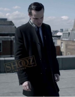 Sherlock Andrew Scott Black Coat