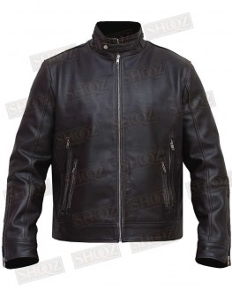 X-Men Cafe Racer Dark Brown Real Leather Jacket