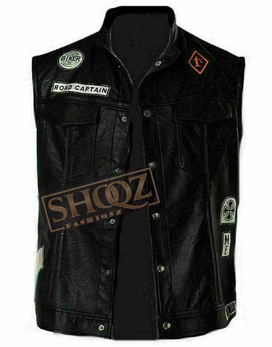 Mesodyn Days Gone Deacon St John Cosplay Leather Vest