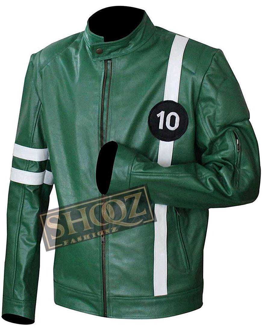 Ben 10 Ryan Kelley Green Jacket