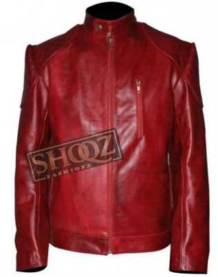 Magnificent Kevin Hart Maroon Leather Jacket