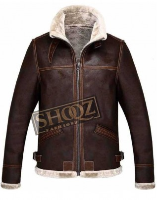 Resident Evil 4 Leon Kennedy Shearling Jacket