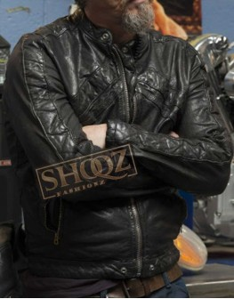 Sons of Anarchy Tommy Flanagan Leather Jacket