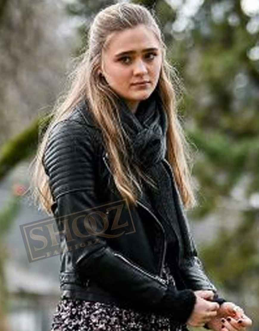 A Million Little Things Lizzy Greene Leather Jacket
