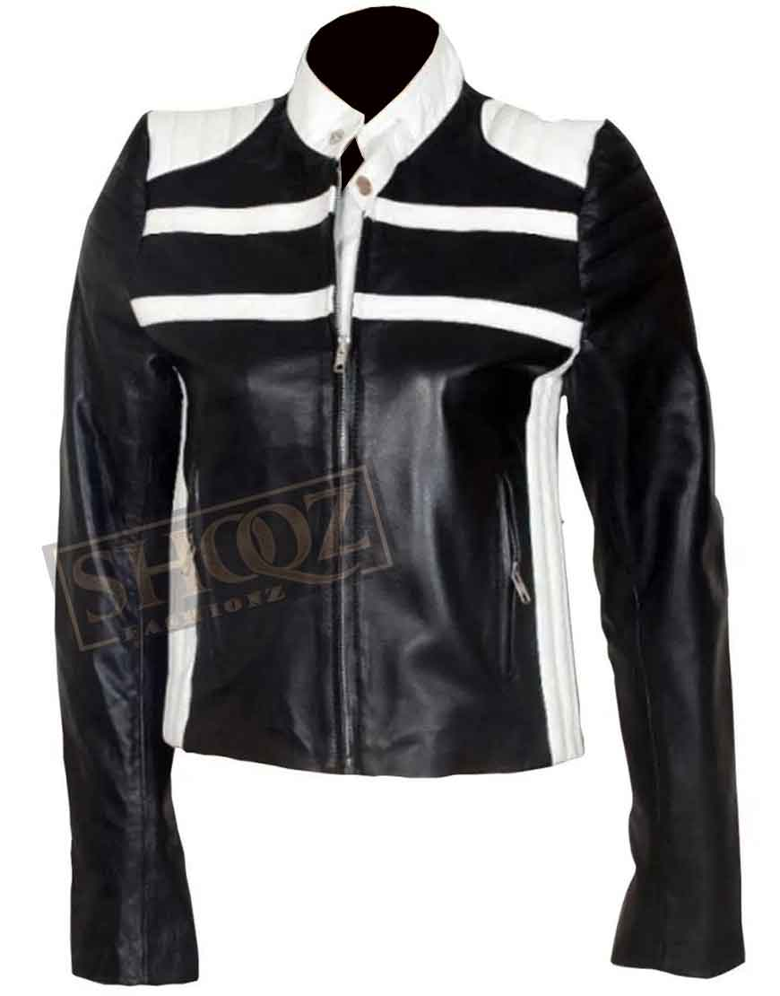 Blonde Ambition Jessica Simpson Leather Jacket