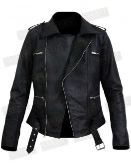 Captain Marvel Brie Larson Leather Jacket
