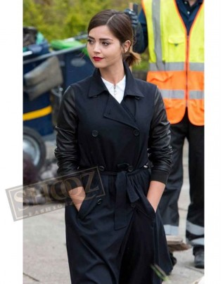 Doctor Who Season 9 Clara Oswald Coat