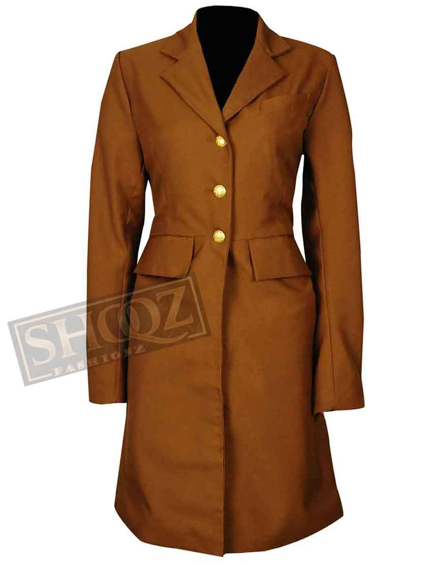 Hell On Wheels Dominique McElligott Trench Coat