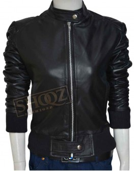The Vampire Diaries Nina Dobrev Leather Jacket