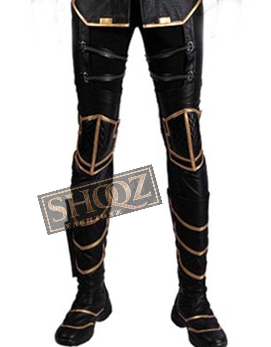 Avengers Endgame Hawkeye Ronin Costume Leather Pant