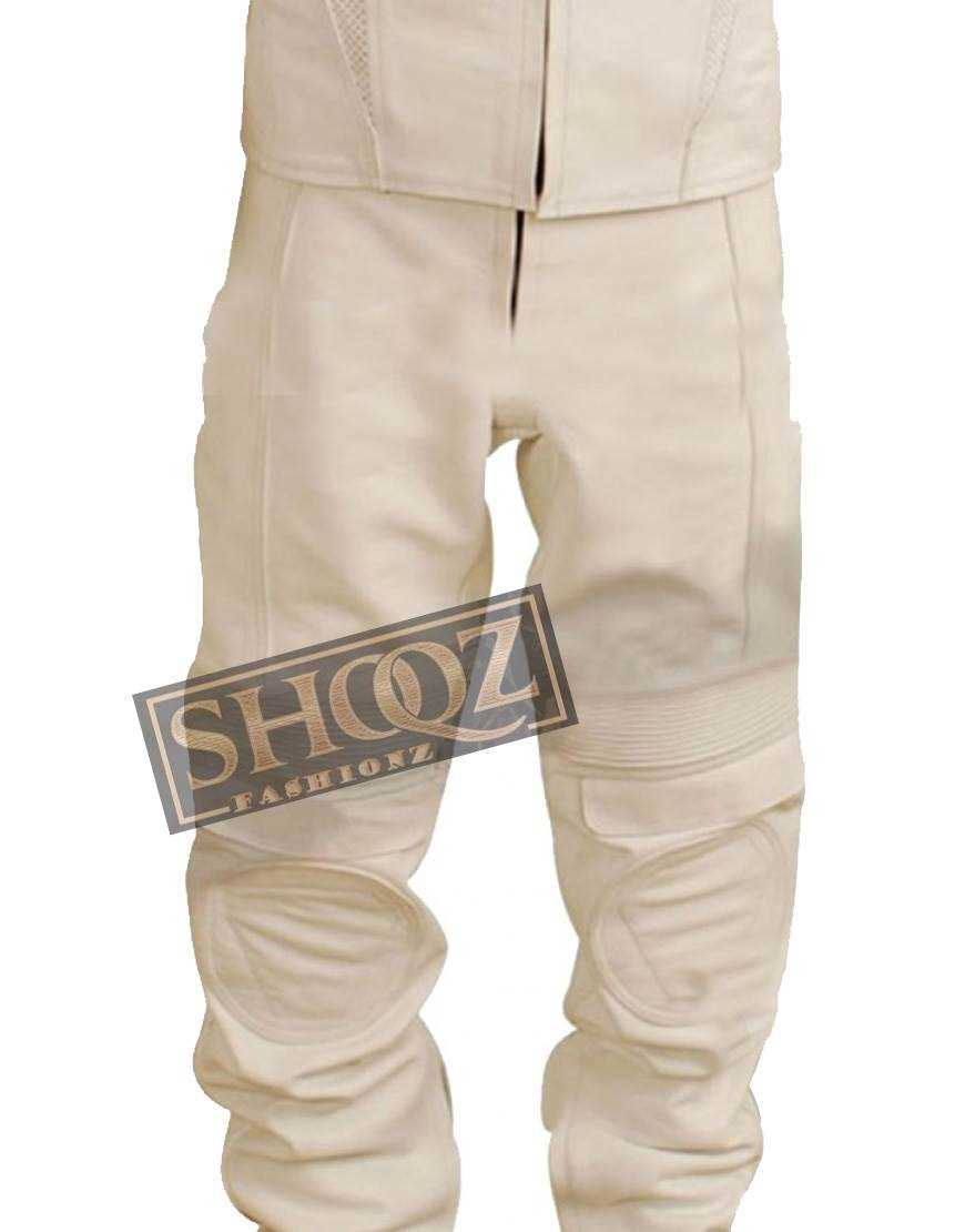 Oblivion Tom Cruise White Leather Pant