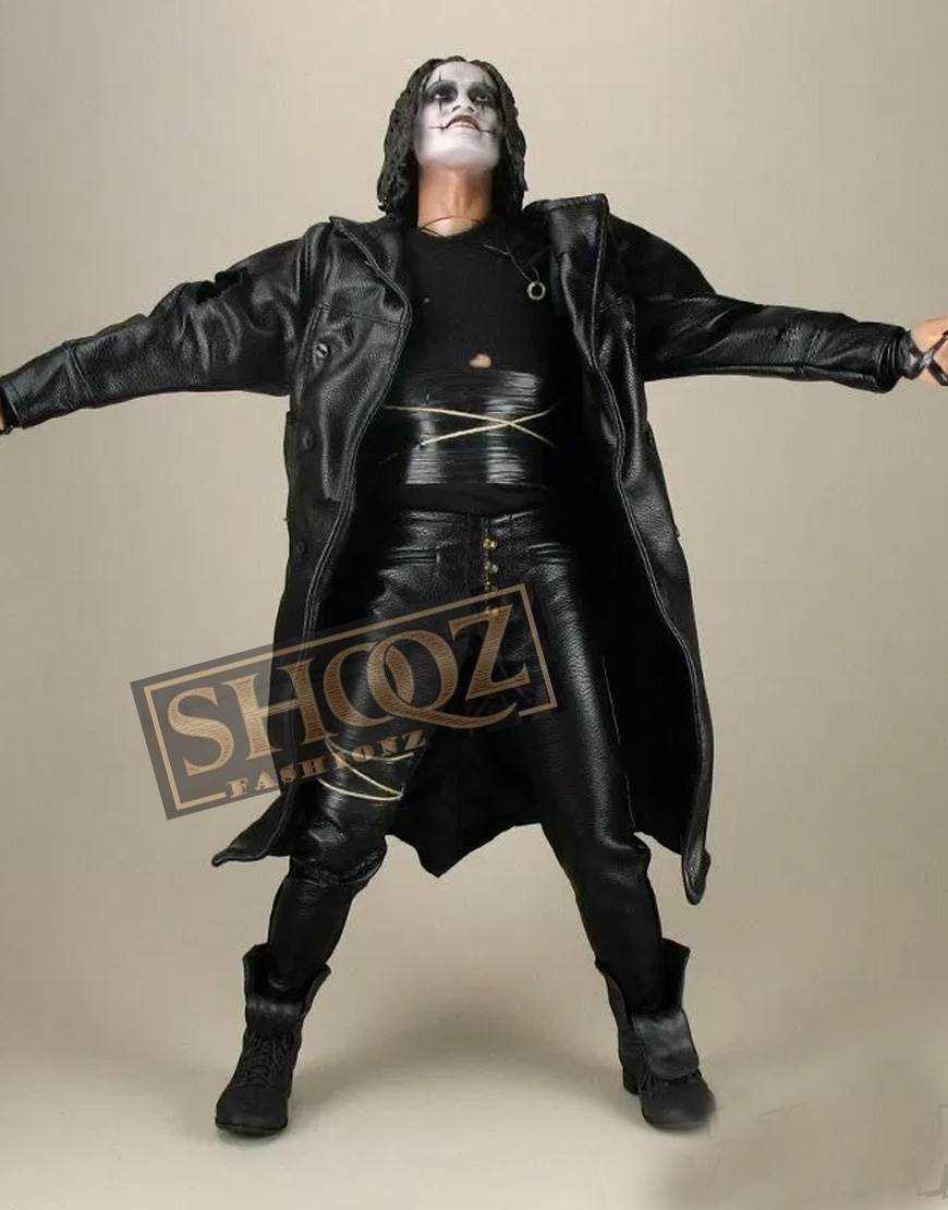 The Crow Movie Costume Leather Pant