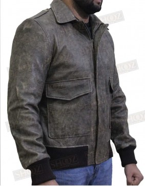 A-Team Howling Mad Murdock Leather Jacket
