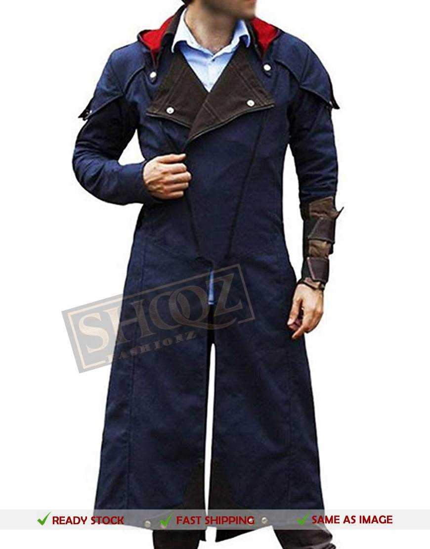 50 Off Arno Dorian Assassin Creed Costume Unity Denim Cloak