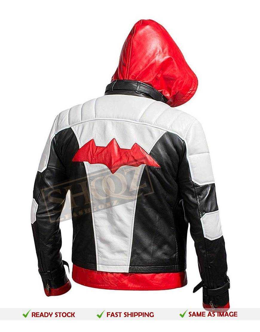 BATMAN ARKHAM KNIGHT RED HOOD JACKET & Vest