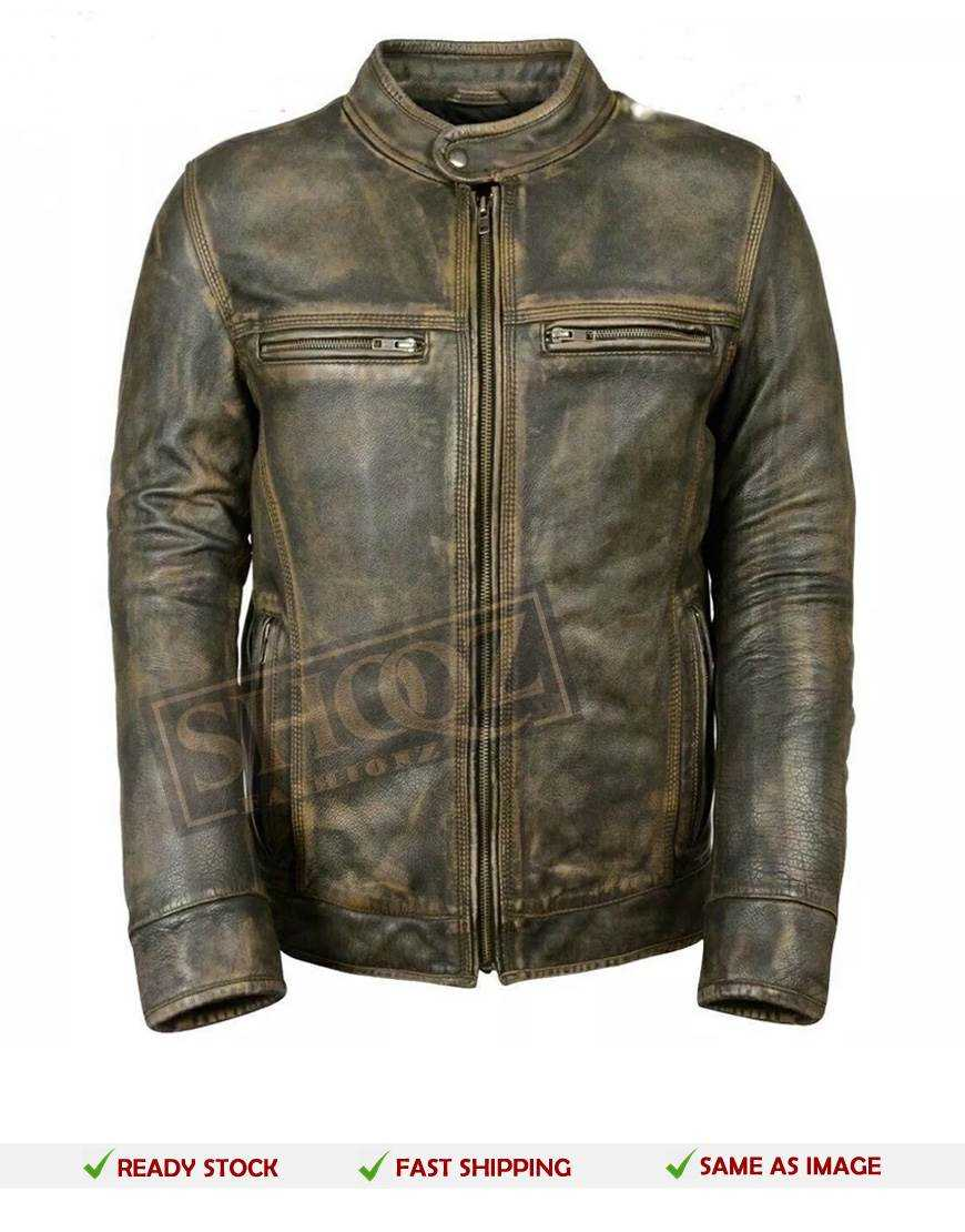 09361c864 Mens Biker Leather Jackets | Cowhide Motorcycle Leather Jackets