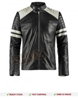 Men's Fight Club Mayhem Retro Leather jacket