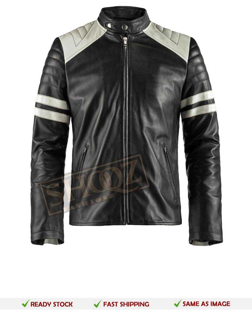 Men's Fight Club Mayhem Retro Leather jacket