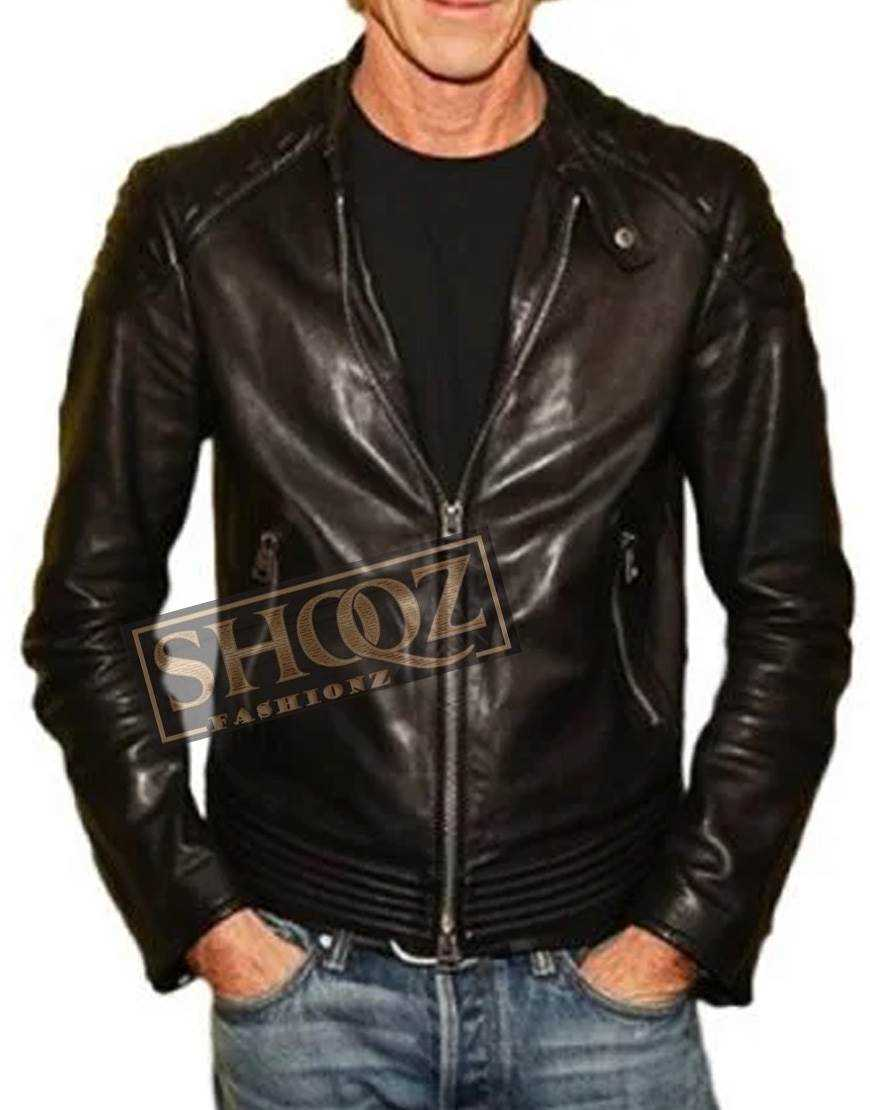 A Quiet Place Premiere Michael Bay Leather Jacket