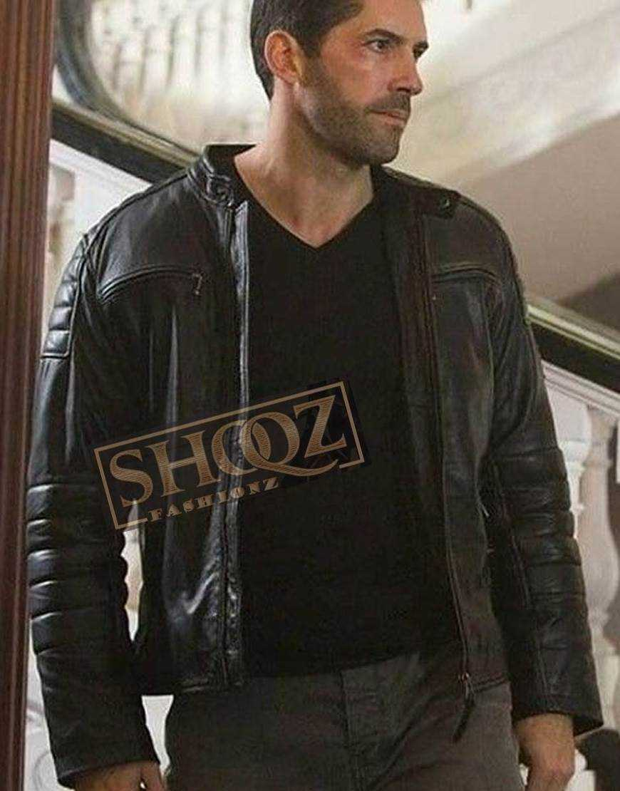 Accident Man Scott Adkins Leather Jacket