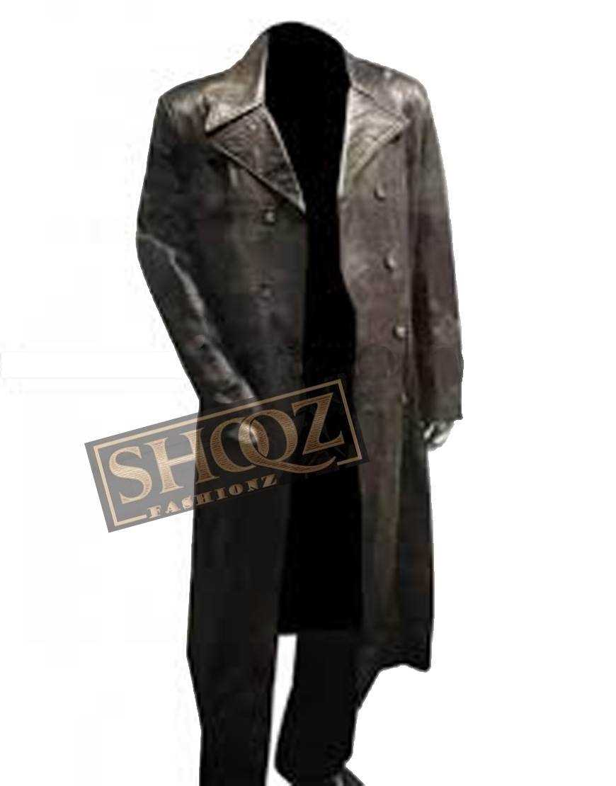 American Gangster Denzel Washington Leather Coat