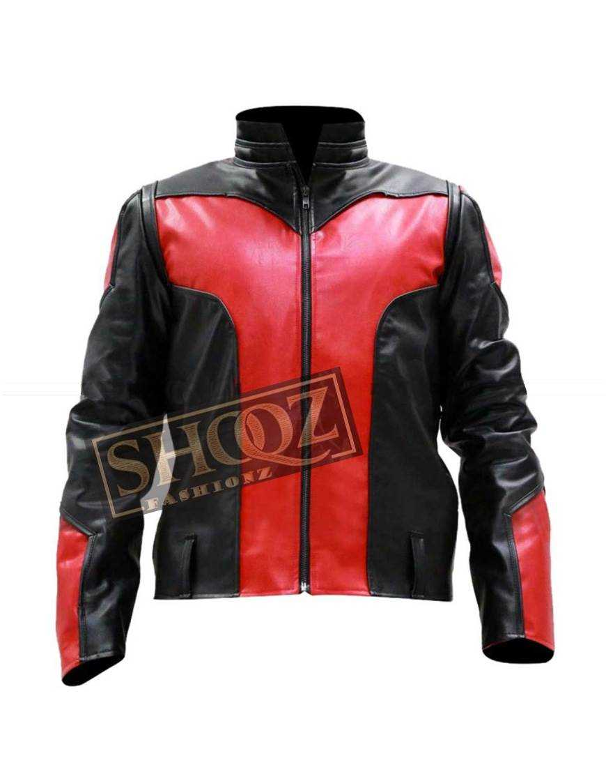 Antman Paul Rudd Leather Jacket