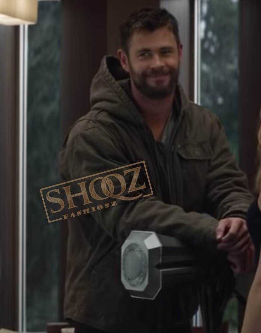 Avengers Endgame Chris Hemsworth Jacket