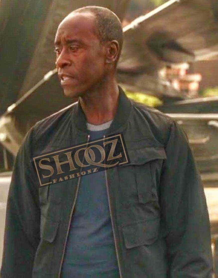 Avengers Endgame Don Cheadle Cotton Jacket