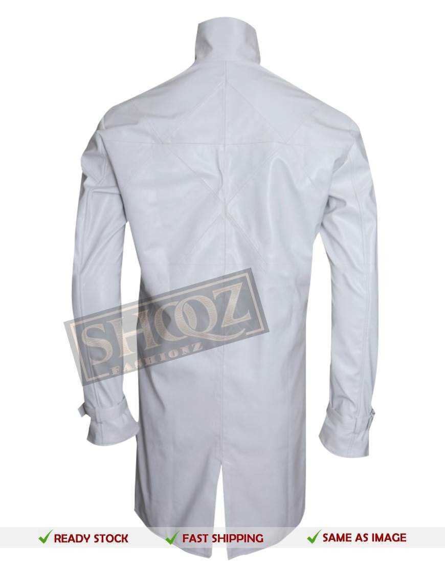 Aiden Pearce Watch Dogs White Trench Coat