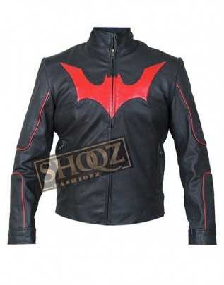 Batman Beyond Will Friedle Leather Jacket