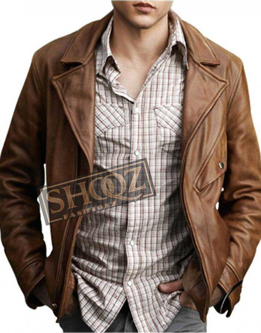 Beautiful Creatures Alden Ehrenreich Leather Jacket