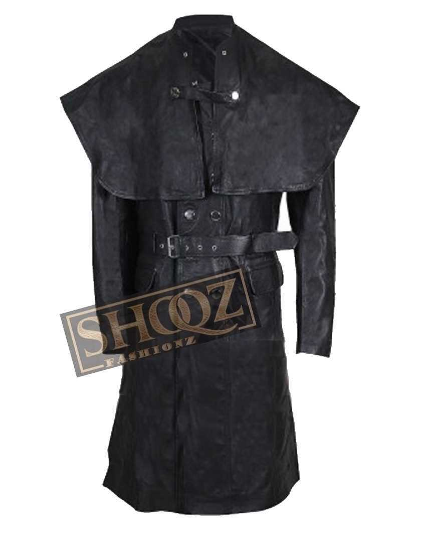 Bloodborne Joe Sims Black Leather Coat